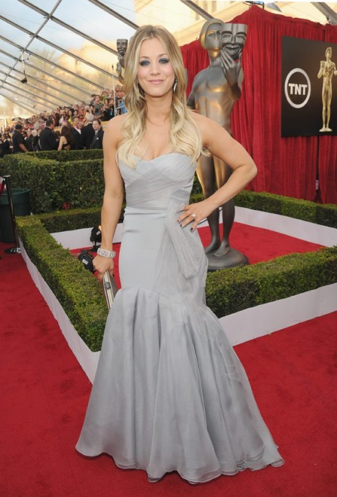 kaley-cuoco-sag-awards-2014